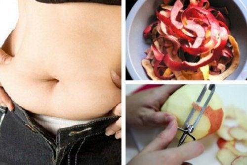 Remède à la peau de pomme pour perdre du poids