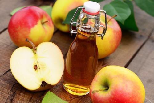 Vinaigre de pomme contre l'acide urique.