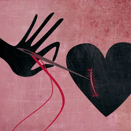 coeur blessé réparation