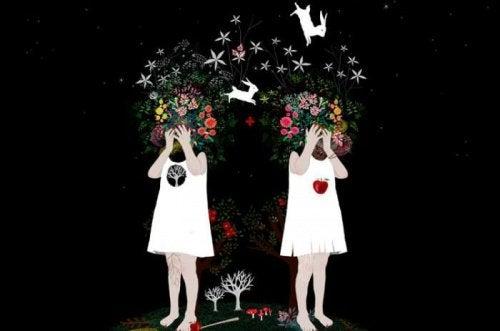 petites-filles-se-prenant-la-tete-et-evitant-les-tempetes-humaines-500x331