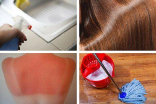 8 usages incroyables que vous pouvez faire avec le vinaigre blanc