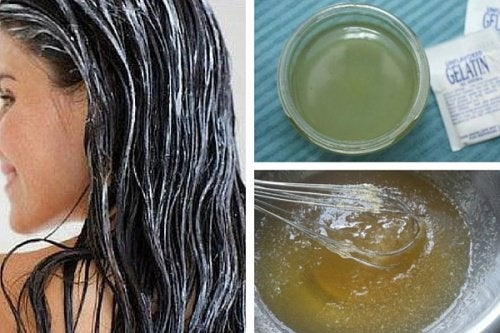 4 traitements de beauté avec de la gélatine