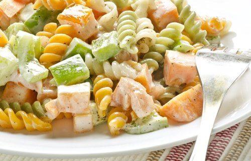 Salade pour le bon cholestérol.