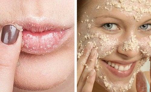 Comment-faire-un-exfoliant-naturel-pour-le-visage-et-les-levres-500x307