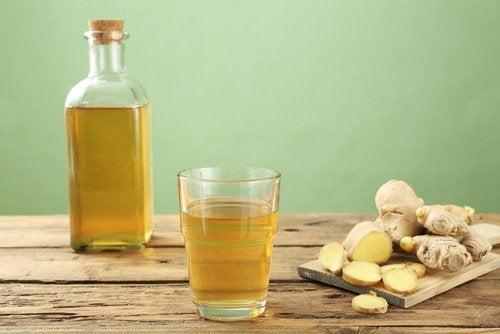 Préparer du gingembre fermenté