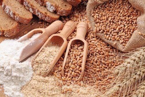 Les céréales pendant la ménopause.