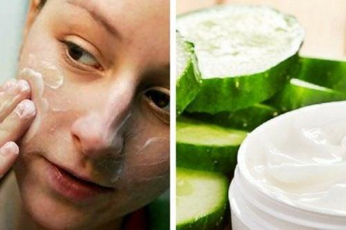 Préparez une crème nettoyante au concombre