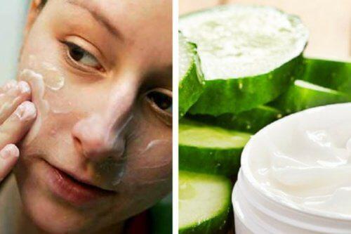 Comment préparer une crème nettoyante au concombre ?