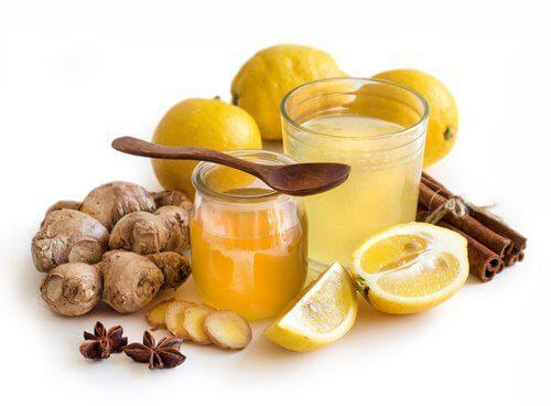 L'écorce de citron contre les maux de gorge.