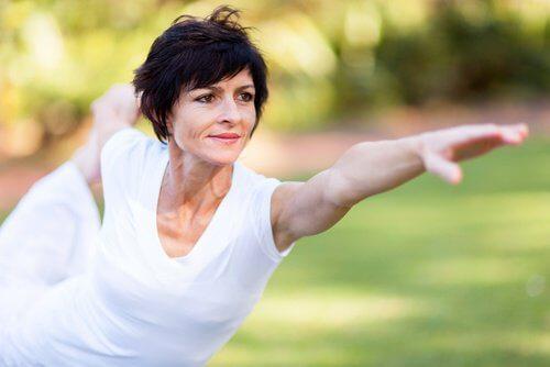 L'exercice pendant la ménopause.