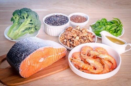 Aliments pour le bon cholestérol.