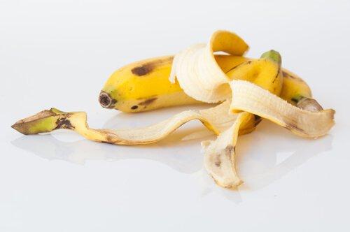 La banane en engrais.