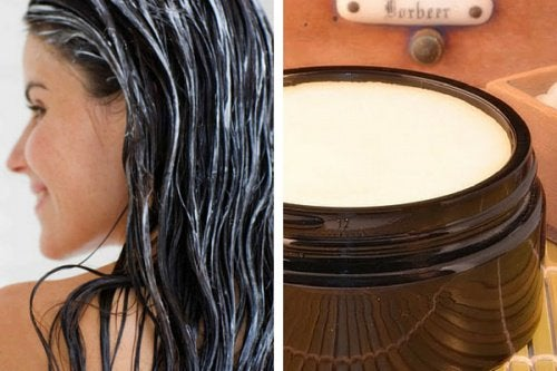 Pommade revitalisante pour les cheveux, faible en graisses et sans toxiques