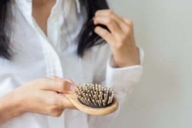 Chute des cheveux