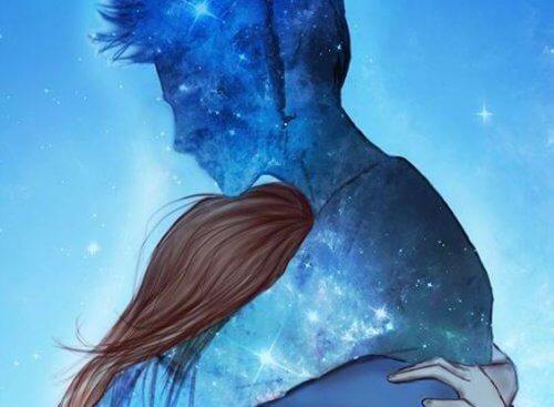 Parfois, tout ce dont nous avons besoin, c'est un câlin qui nous réconforte l'âme