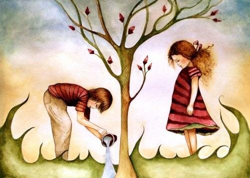 Frères et sœurs, le lien qui naît du cœur