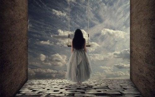 Parfois, quand quelqu'un vous mène jusqu'au précipice, vous découvrez que vous pouvez voler
