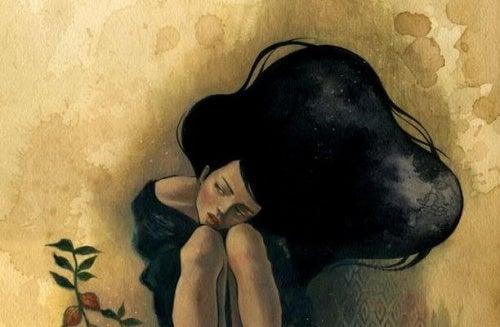 Femme-tristesse