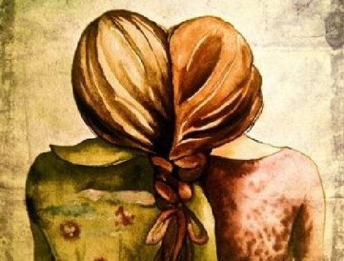 Restez avec quelqu'un avec qui vous pouvez être vous-même librement