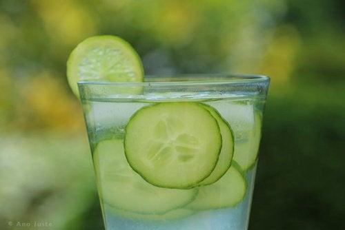 L'eau au concombre pour purifier