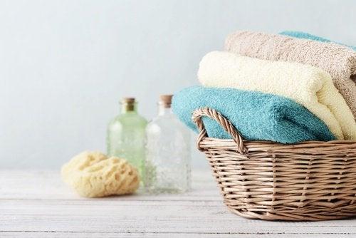Lavez vos serviettes de bain