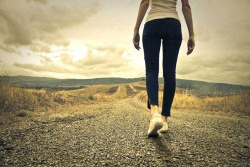 Continuez à avancer, quoi qu'il arrive