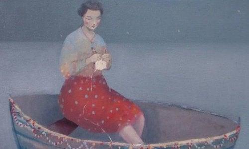 Femme-dans-un-bateau-besoin-d'etre-heureuse-500x301