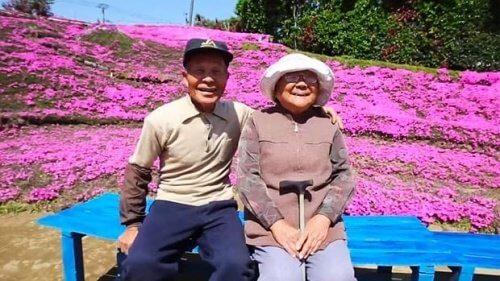 Un Japonais a planté des milliers de fleurs pour que son épouse aveugle puisse les sentir