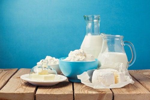Les produits laitiers quand on souffre de douleurs articulaires.