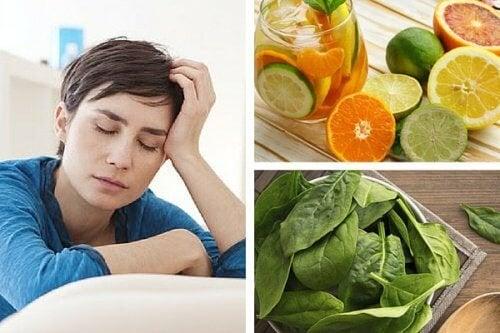 5 carences nutritionnelles à l'origine de la fatigue chronique