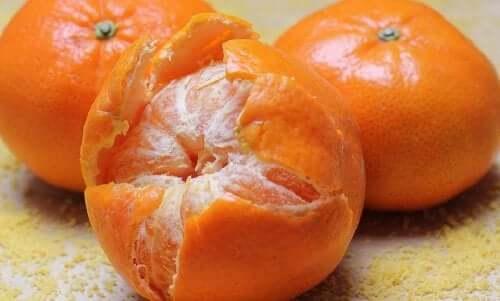 Des mandarines
