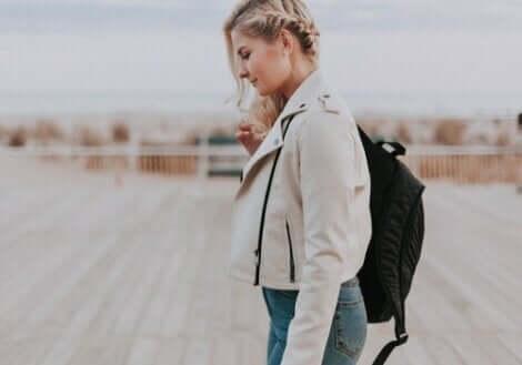 Femme qui marche