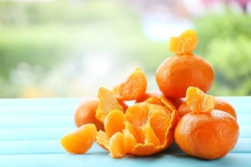 Masque à base de mandarine pour rajeunir la peau