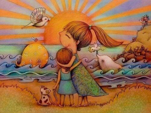 Un neveu ou une nièce est le meilleur cadeau qu'un frère ou une sœur peut faire