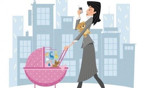 Je suis une femme active et une mère : quelqu'un qui lutte pour les siens chaque jour