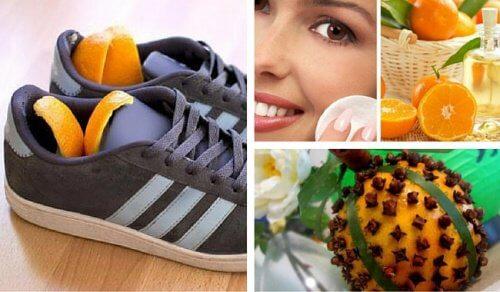 10 manières créatives de réutiliser la peau d'orange
