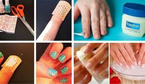 12 astuces pour vous vernir les ongles plus facilement