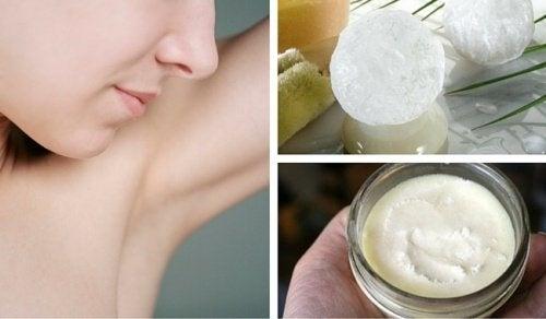 6 déodorants naturels à préparer chez soi