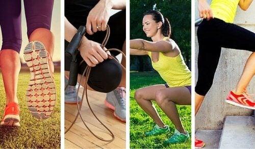 Les 6 exercices qui brûlent le plus de calories