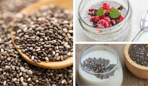 6 façons d'inclure les graines de chia dans votre alimentation
