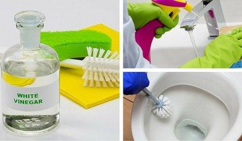 6 manières de nettoyer votre salle de bain au vinaigre blanc ... - Nettoyer Salle De Bain Vinaigre Blanc