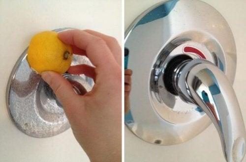 7 astuces naturelles pour nettoyer les robinets de votre foyer
