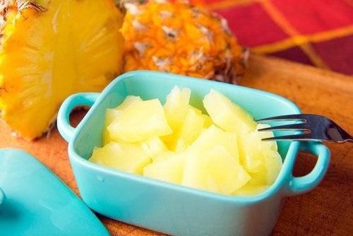 Le régime à l'ananas