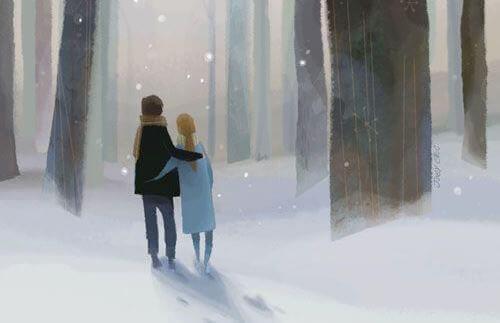 Couple-se-promenant