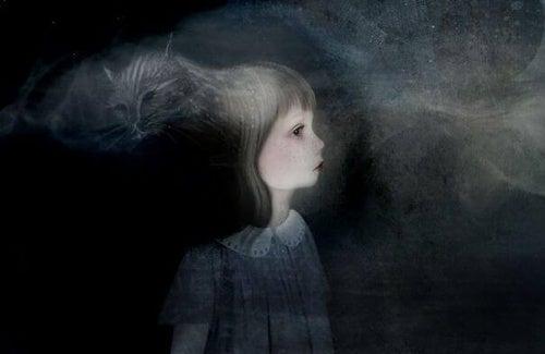 Enfant-dans-l'obscurite-representant-les-doutes