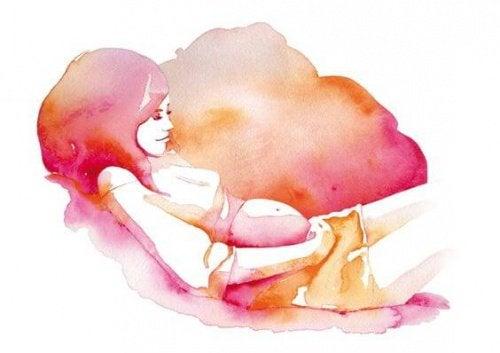 La grossesse, union magique avec un être que l'on aime sans le connaitre
