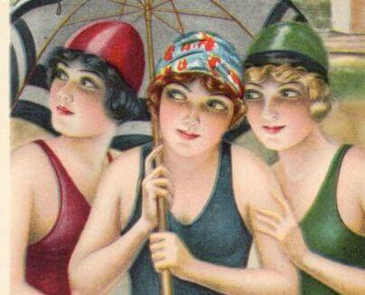 Femmes en maillot de bain - nous devons être heureux.