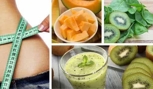 Jus spécial pour perdre du poids, énergiser le corps et combattre l'anémie