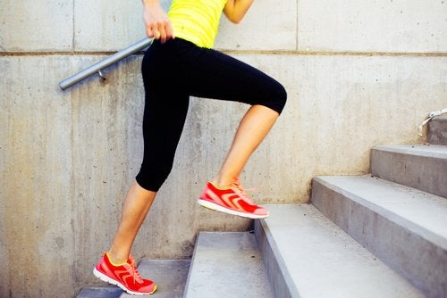 escaliers pour perdre des calories