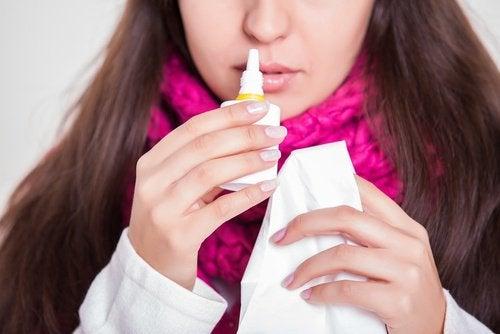 le bicarbonate , remède pour la congestion nasale